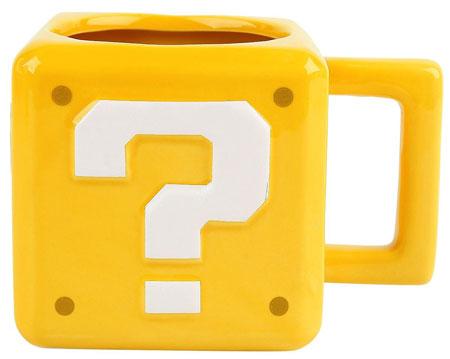 Super Mario - Fragezeichen-Block Tasse