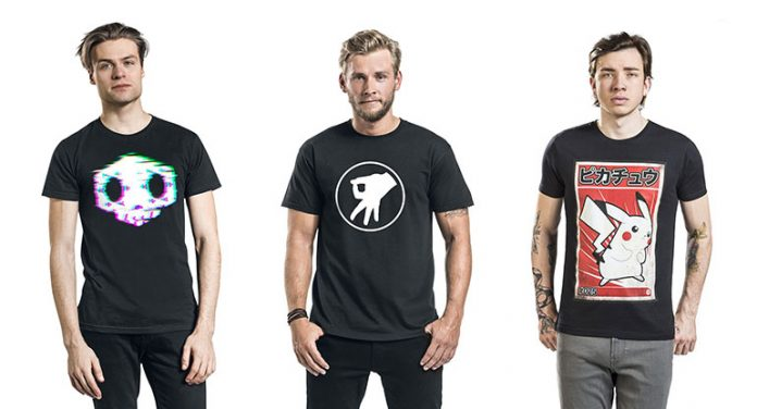 T-Shirts im Gaming-Style