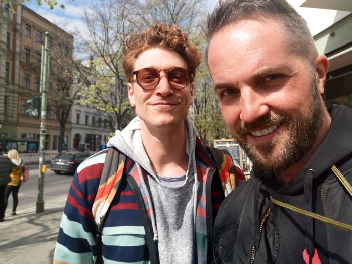 Daniel Donskoy und Daniel Heilig
