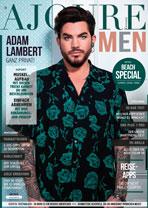 AJOURE Men Cover Monat Juli 2019 mit Adam Lambert