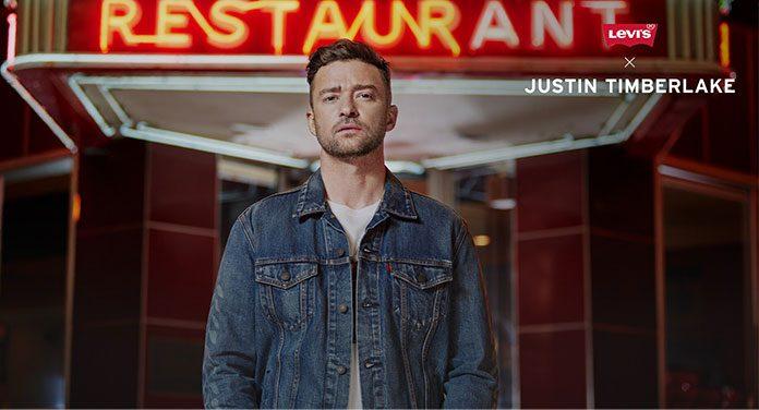 Justin Timberlake für Levi's