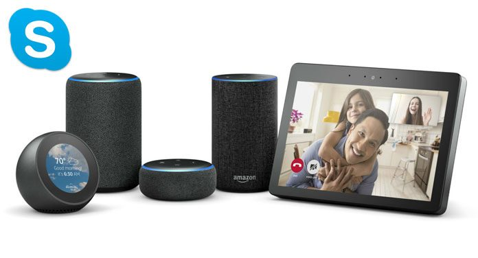 Skype mit Alexa nutzen