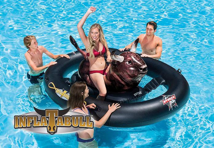 Bullride für den Pool