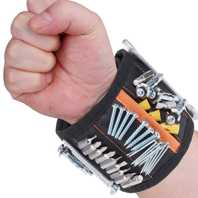 Magnetarmband für Schrauben, Nägel und vieles mehr