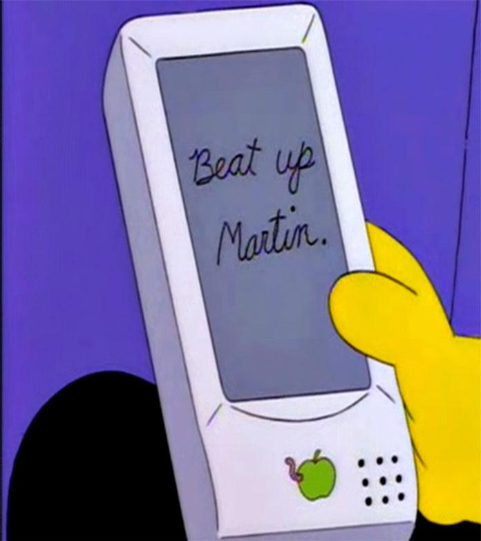iPhone Simpsons Vorhersagen