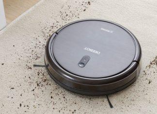 ECOVANCS Deebot N79s beim staubsaugen