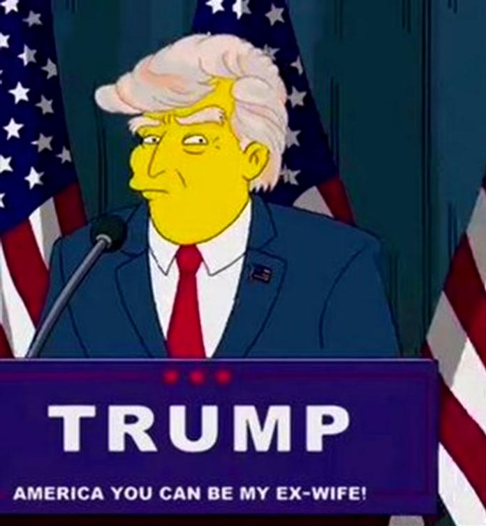 Trumps Präsidentschaft Simpsons