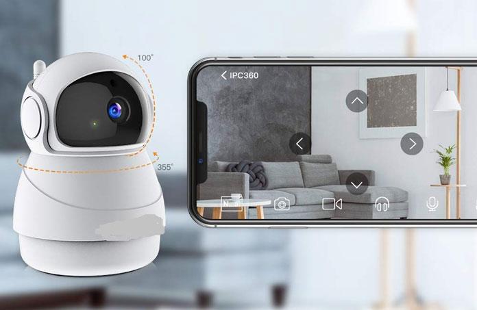 WLAN Überwachungskamera für zu Hause