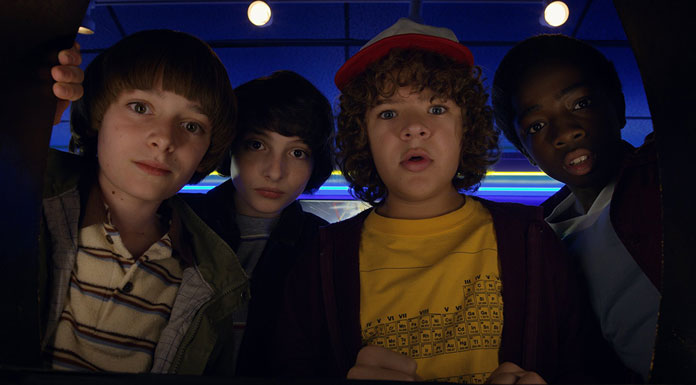 stranger things mike, will, dustin und lucas