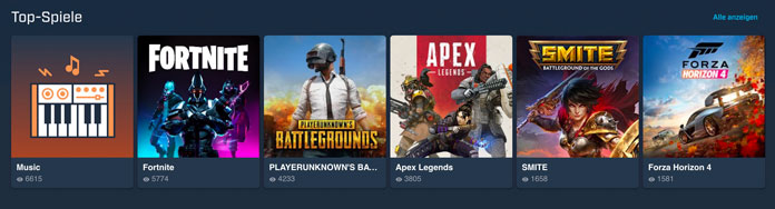 Mixer Top Spiele