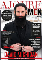 AJOURE Men Cover Monat Oktober 2019 mit David Michigan