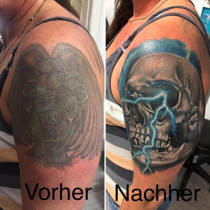 Cover-up Skull