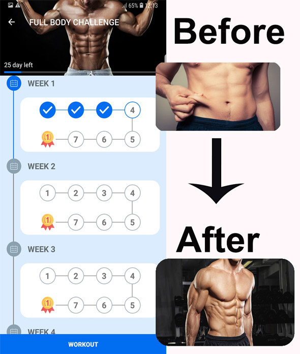 Heimtraining Gym Pro