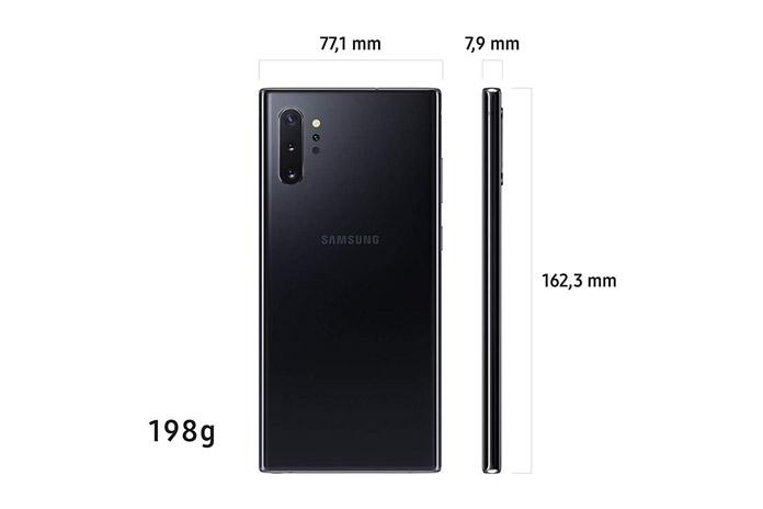 Samsung Galaxy Note 10+ Maße