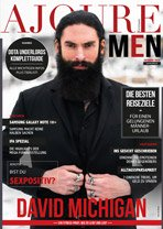 ajoure-men E-magazine cover
