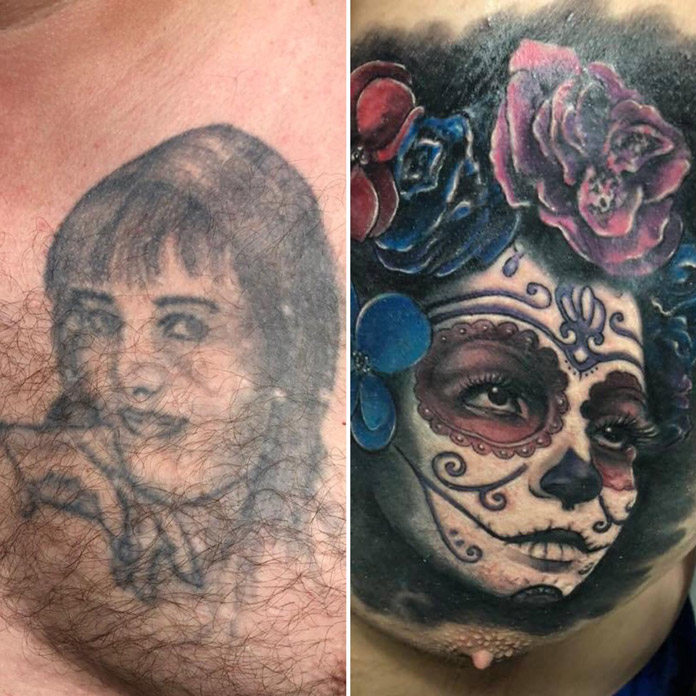 Cover-up La Catrina