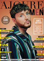 AJOURE Men Cover Monat November 2019 mit James Arthur