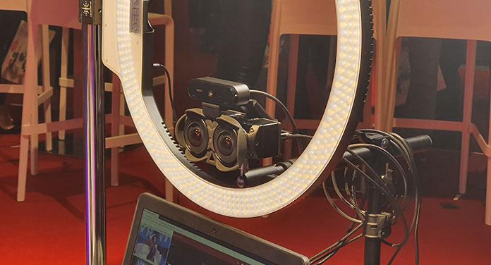 vr streaming kamera auf der venus 2019