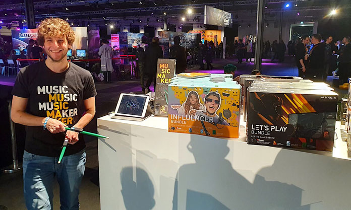 Egx Berlin Magix Messestand
