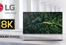 LG SIGNATURE 8K OLED TV Z9