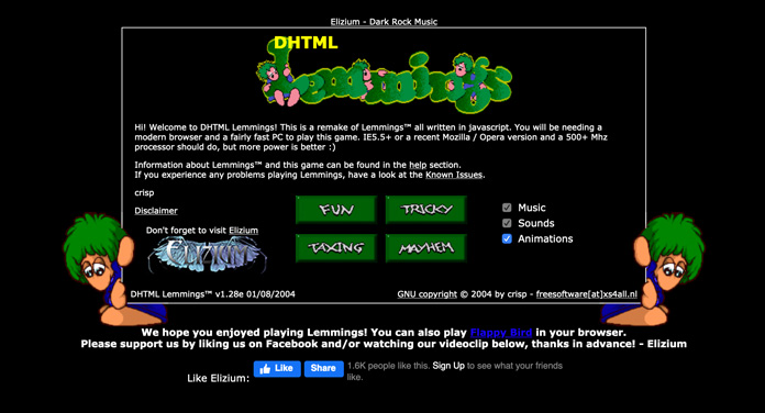 Oh oh – Lemmings!