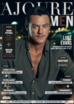 AJOURE Men Cover Monat Januar 2020 mit Luke Evans