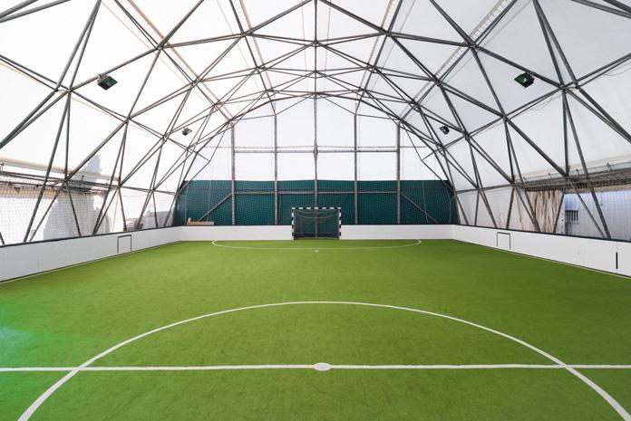 Soccer-Halle