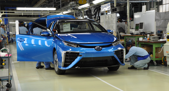 Toyota Mirai Fertigung