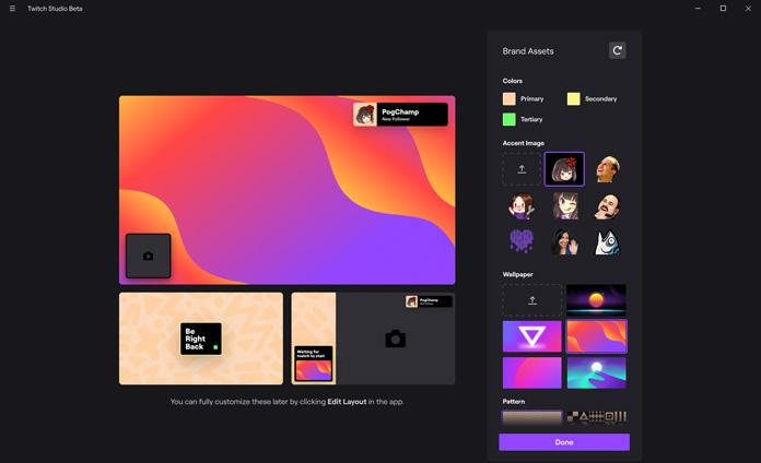 Twitch Studio Overlay