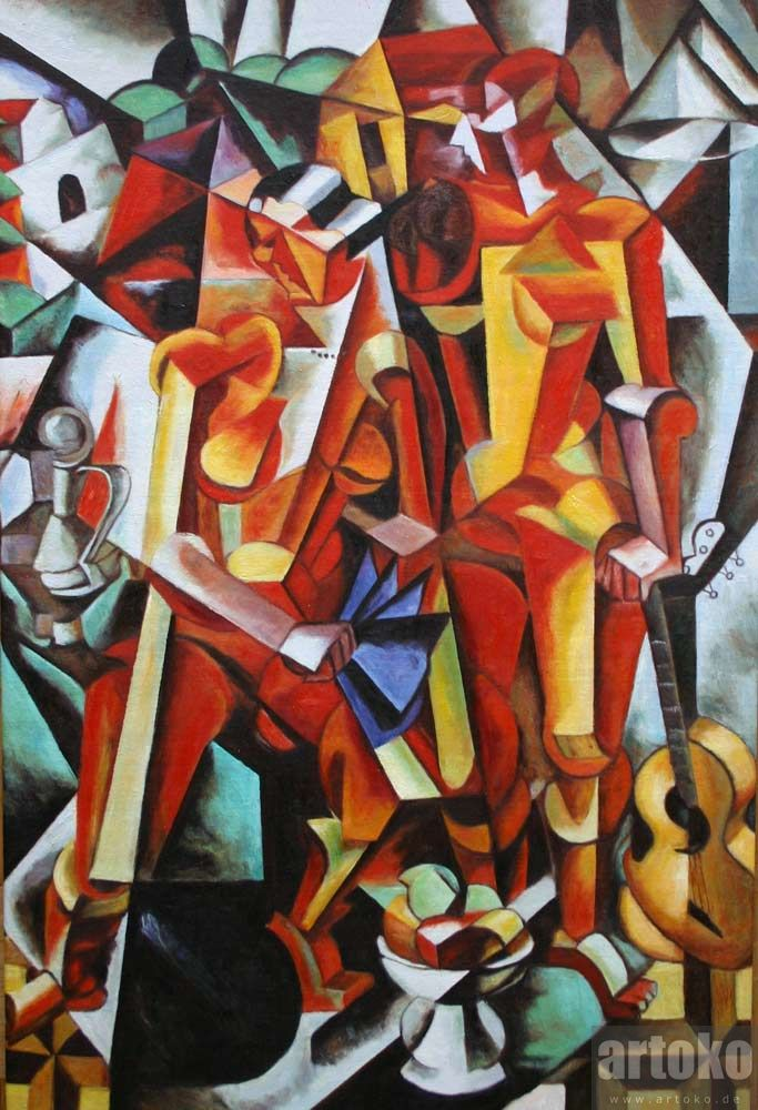 Liubov Popova - Zwei Figuren