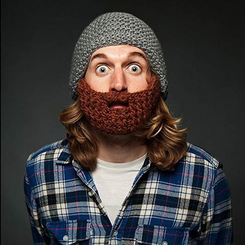 Mütze mit Bart