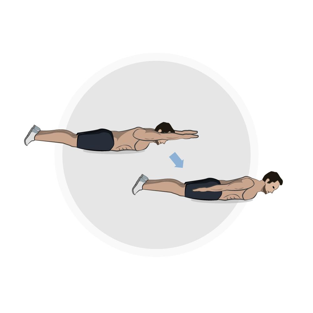 Ganzkörper-Workout Upper Back Flies