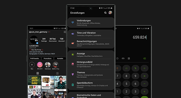 Android: Das brauchst du, um den Dark Mode zu aktivieren