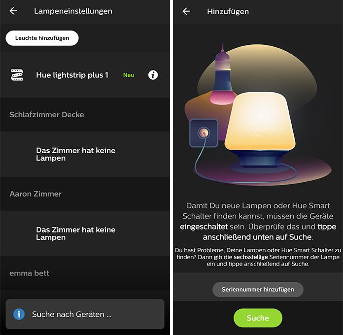 Philips Hue App installieren und einrichten
