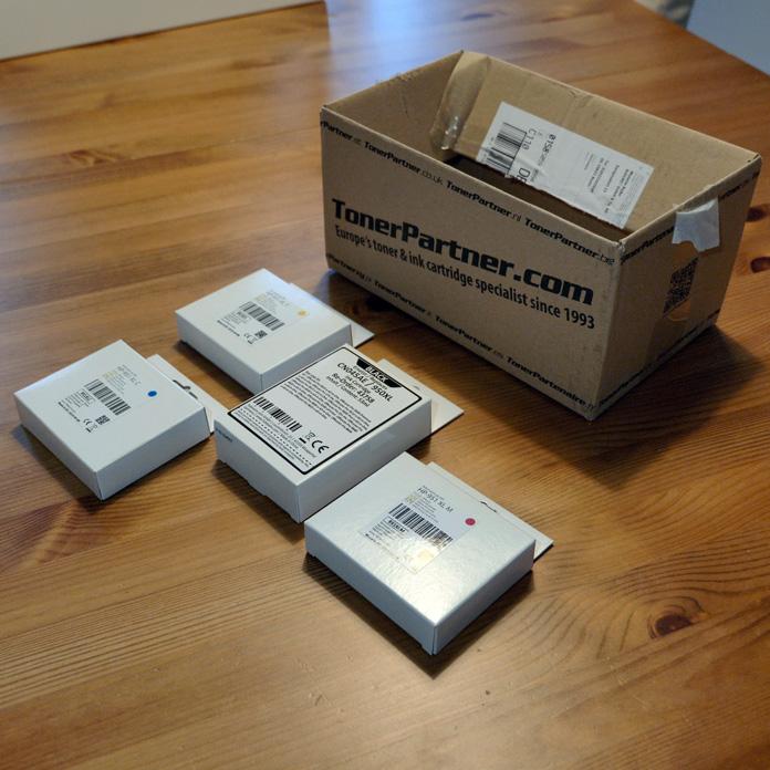 TonerPartner.de Paket Inhalt