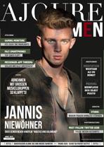 AJOURE Men Cover Monat März 2020 mit Jannis Niewöhner