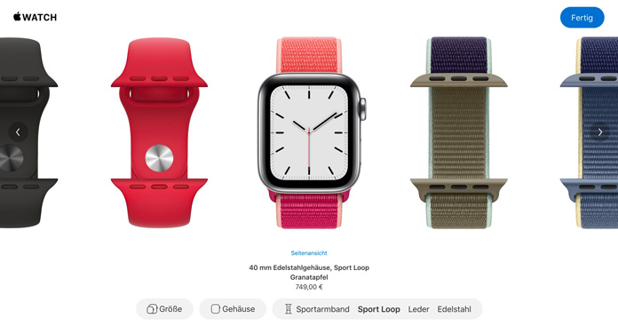 Apple Watch Studio: Stelle dir deine individuelle Apple Watch zusammen