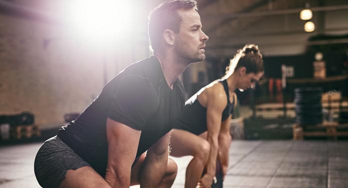 Abnehmen mit großen Muskelgruppen