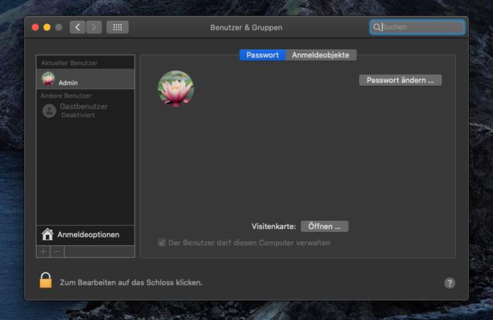 macOS erneut installieren