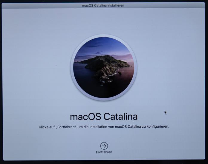 Install macOS Catalina