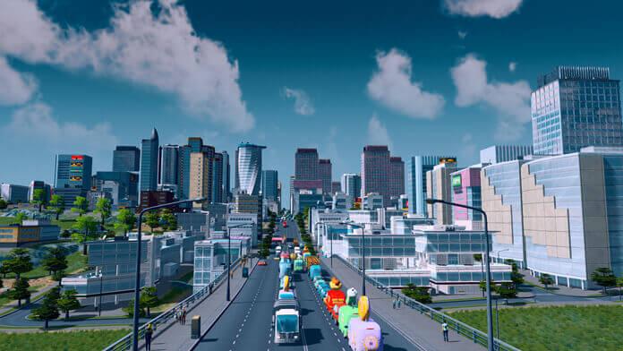 Cities Skylines Streetview