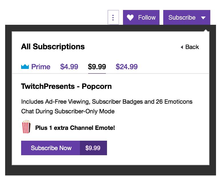 Twitch Einnahmen durch Abonnements