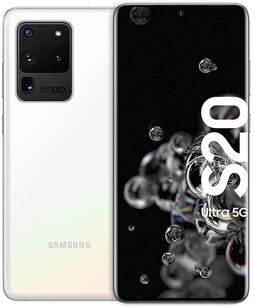Galaxy S20 Ultra Cloud White