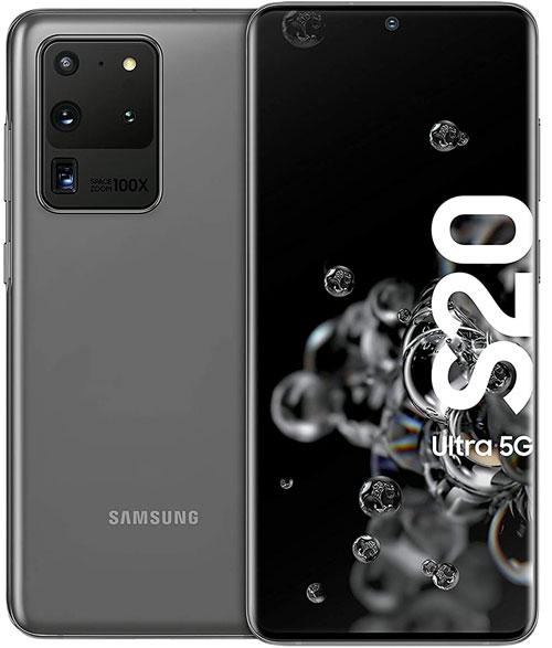 Galaxy S20 Ultra Vorder- und Rückseite