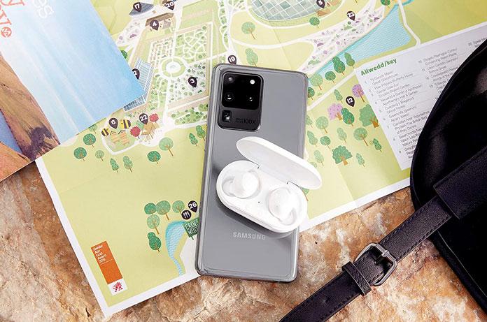 Samsung Galaxy S20 Ultra Kopfhörer induktiv laden