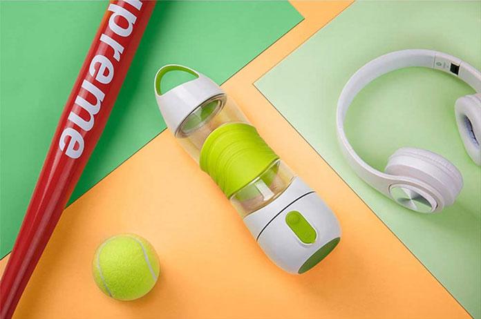 Smarte Fitnessgeräte Wasserflasche