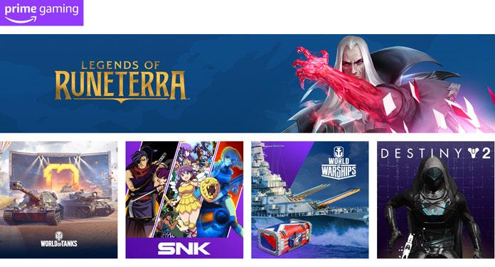 Prime Gaming Update