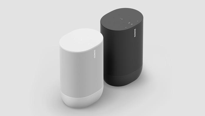 Sonos Move in Lunar White und Shadow Black