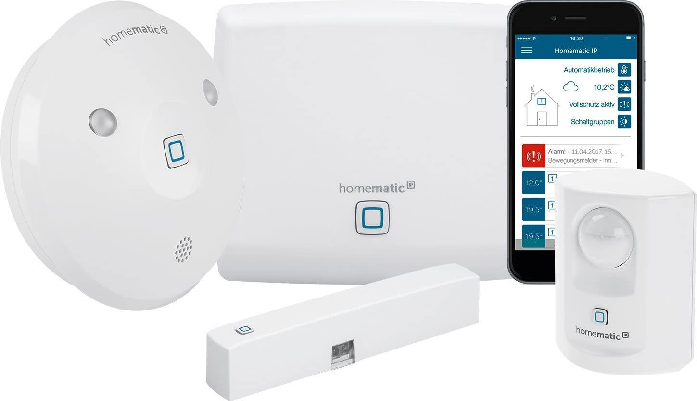 Homematic IP Smart Home Starter Set Alarm
