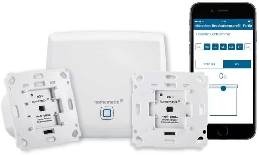 Homematic IP Smart Home Starter Set Beschattung